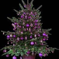 Скачать gif картинку: Новогодняя ёлка