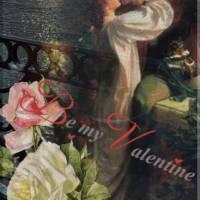 Скачать gif картинку: Валентинка в старом стиле