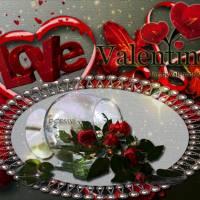 Скачать gif картинку: Валентинка, любовь